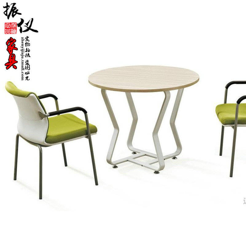 Vibration Meter Shanghai Office Small Conference Table Minimalist Modern Furniture Plate Long Strip Steel Training Negotiating In