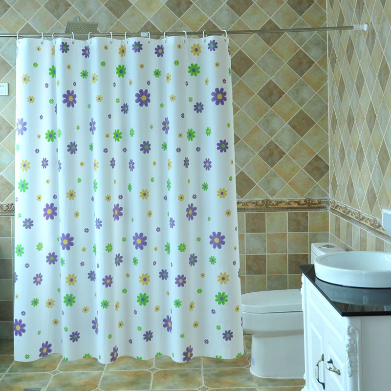 Buy Warm Autumn And Not Through The Curtain Partition Blocking Bathroom Waterproof Shower Cover Light Pulling