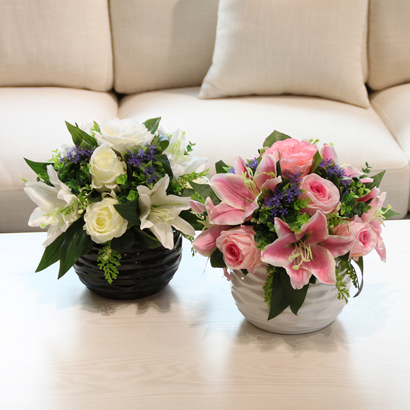 Buy Wo Artificial Flowers Artificial Flowers Lily Flowers