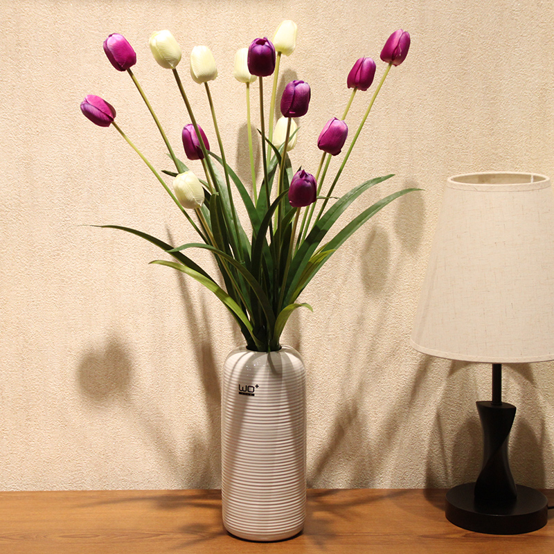 Buy Wo Artificial Flowers Wicker 3 Tulip Dining Table Modern Minimalist Furnishings Silk Flower Artificial Flower Home Decor In Cheap Price On M Alibaba Com