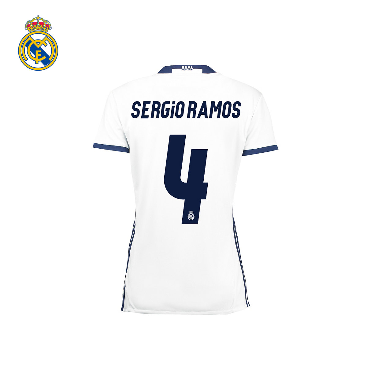dd9739304 Buy  Woman  real madrid ramos ramos 16 17 season home jersey short sleeve 4  in Cheap Price on Alibaba.com