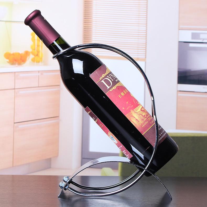 Buy Wrought Iron Wine Rack Wine Rack Fashion Ornaments Showcase Wine