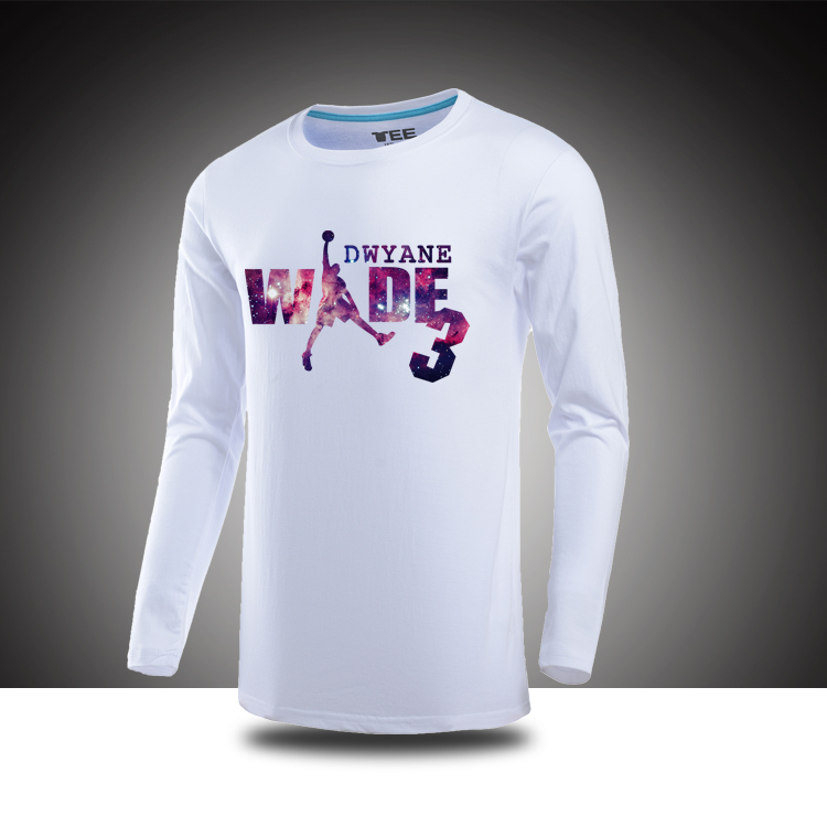 cf76e8339 Buy Wyatt mood wade miami  39 s dwyane wade basketball summer cotton t-shirt  long sleeve t-shirt long sleeve t-shirt in Cheap Price on m.alibaba.com
