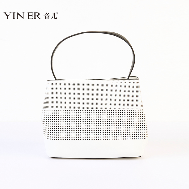 2547ee80dac Buy Yiner sound child 2016 summer new hollow white leather handbag bag wild  handbags 86291020 in Cheap Price on m.alibaba.com