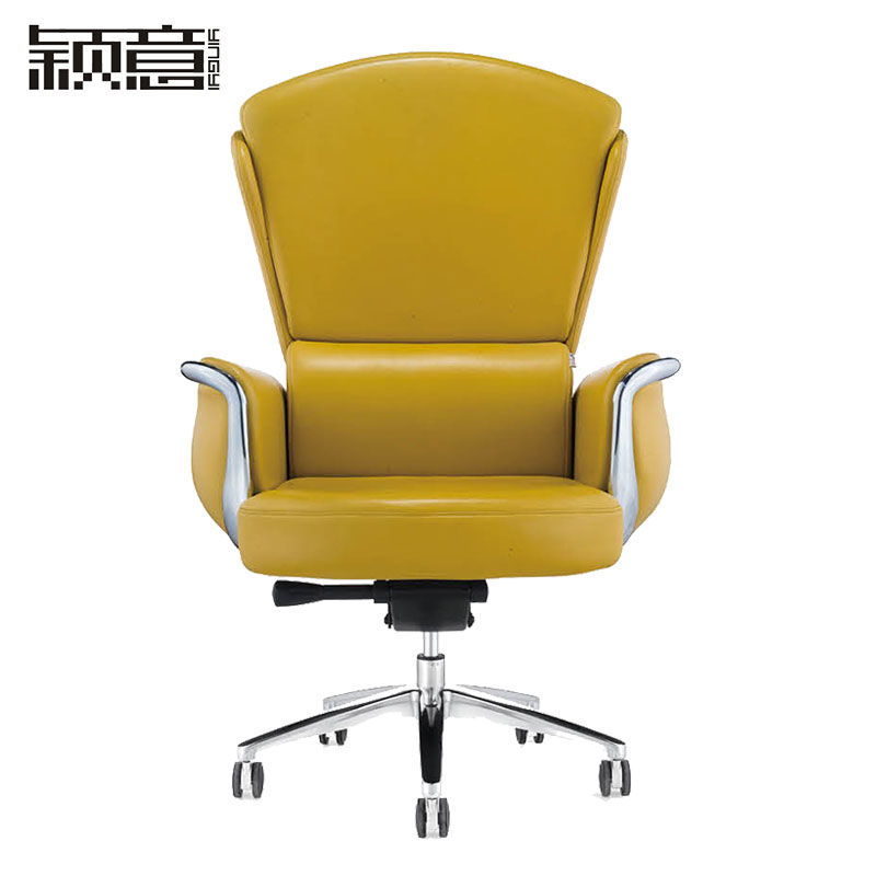 Buy Ying Italian Office Furniture Imported Cowhide Leather Chair Boss Chair  Reclining Chair Can Lift Chair Manager Chair Office Chair Taipan In Cheap  Price ...