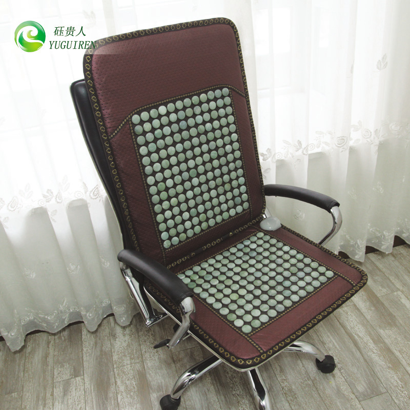 Yu Elegant Jade Boss Chair Cushion Heated Seat Germanium Stone Tourmaline Electric In Price On M Alibaba