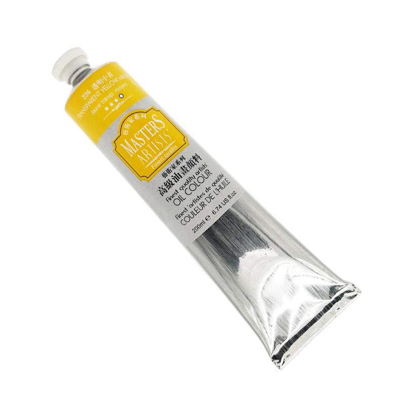 马利艺术家级油画颜料200ml铝管装创作大支白色美术颜料油彩套装
