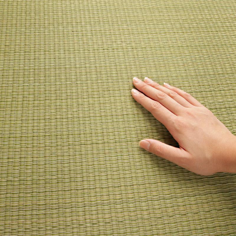 出口日本榻榻米蔺草无边拼块地垫和室地台飘窗夏季移动儿童爬行垫