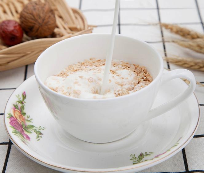 皇味牛奶加钙营养麦片早餐冲饮代餐即食免煮谷物杂粮小袋装700g