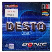 DONIC多尼克F1加硬F2 F3 F4乒乓球胶皮球拍反胶套胶德国进口内能 (¥148(券后))