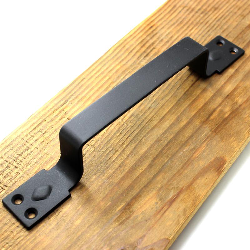 升级版美式铁艺谷仓门把手大门木门移门推拉门拉手衣橱柜门创意小