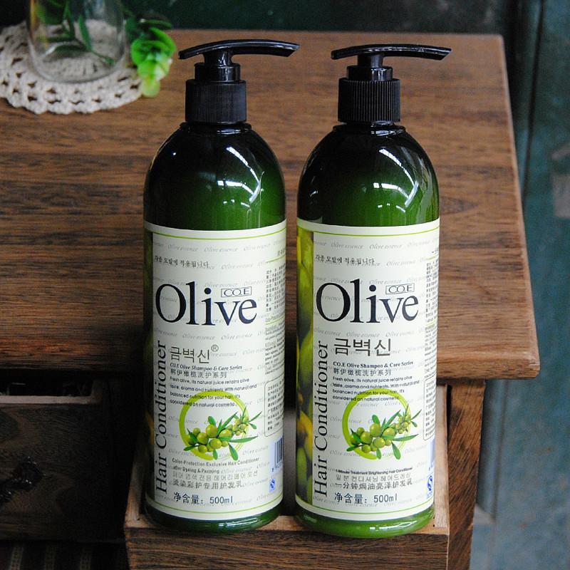 專櫃正品韓伊橄欖Olive一分鐘焗油亮澤/燙染彩護專用護髮乳500ml