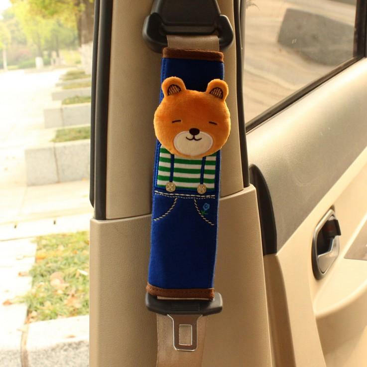 汽车用品安全带套保险护肩套加长男女可爱卡通车饰装饰品套装内饰