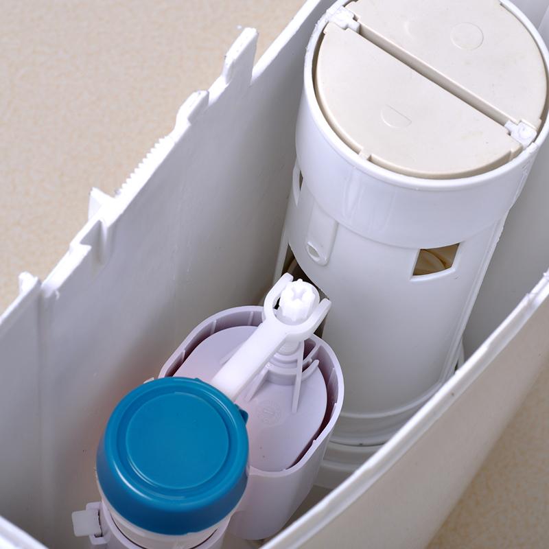 KJS 节能 蹲厕冲水箱厕所静音水箱踏便器蹲便器冲水箱双按键水箱