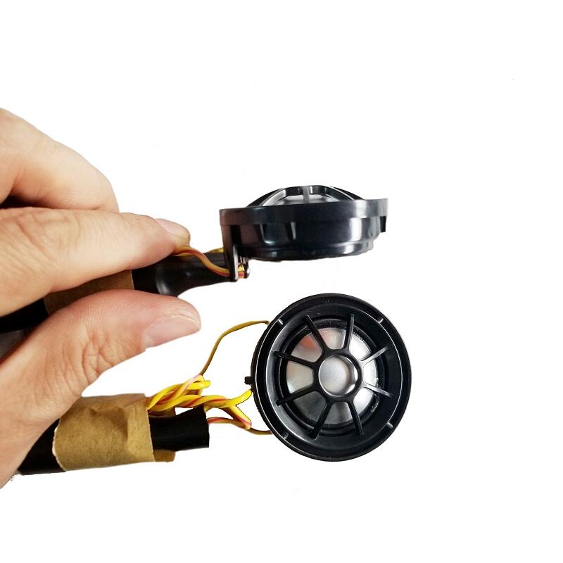 哈曼卡顿拆车高音头高音仔汽车音响喇叭钛金属膜送底座网罩