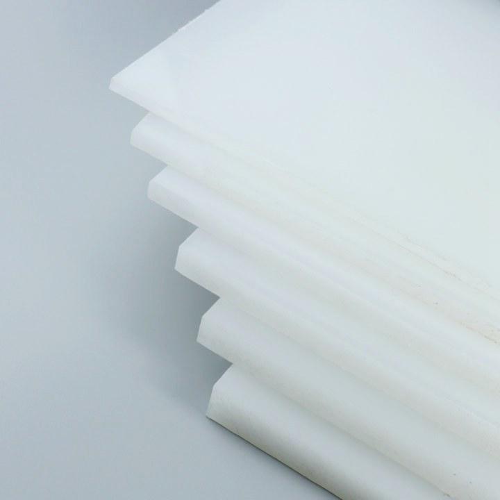 定制食品级PP塑料板白色PP板材猪肉台切肉硬胶板耐磨ppr尼龙pe板