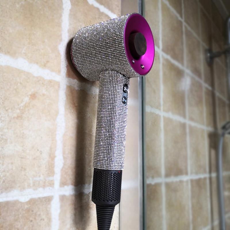 Dyson戴森吹風機支架實木壁掛浴室衛生間電吹風筒掛架收納架鉤子