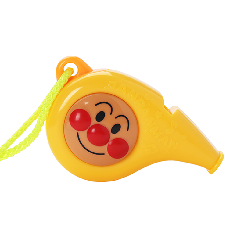 现货包邮日本原装面包超人哨子儿童超大口哨吹奏乐器音乐宝宝玩具