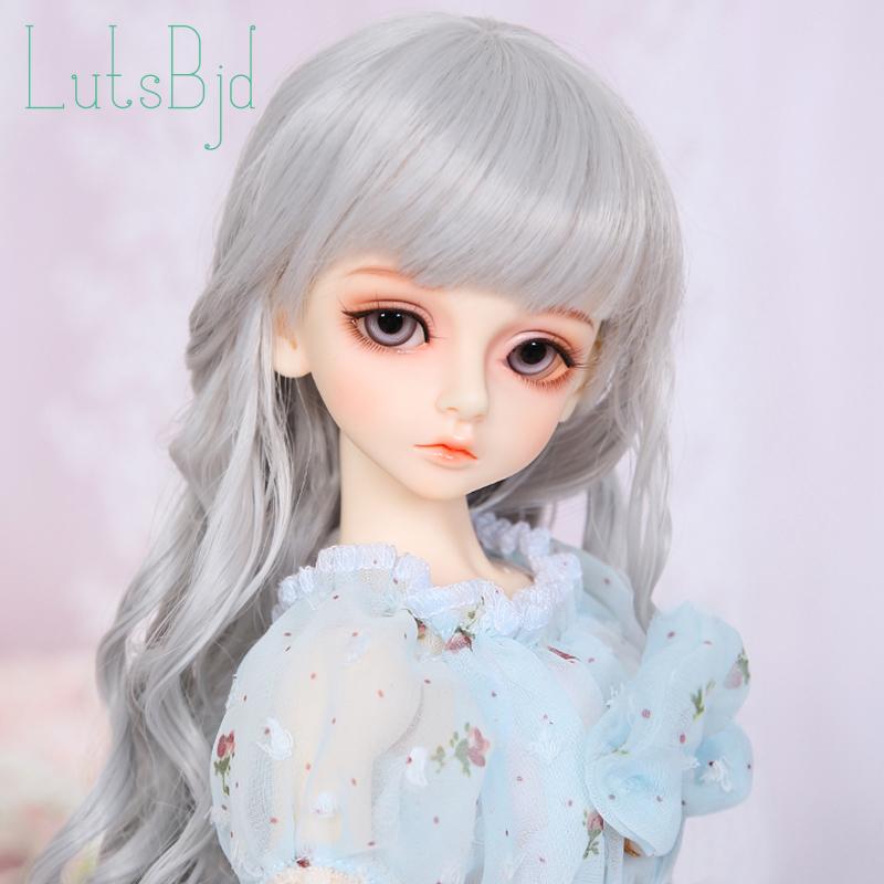 [守護精靈] 4分bjd娃娃 雨涵 公仔女孩玩具 手工美髮實體模擬娃
