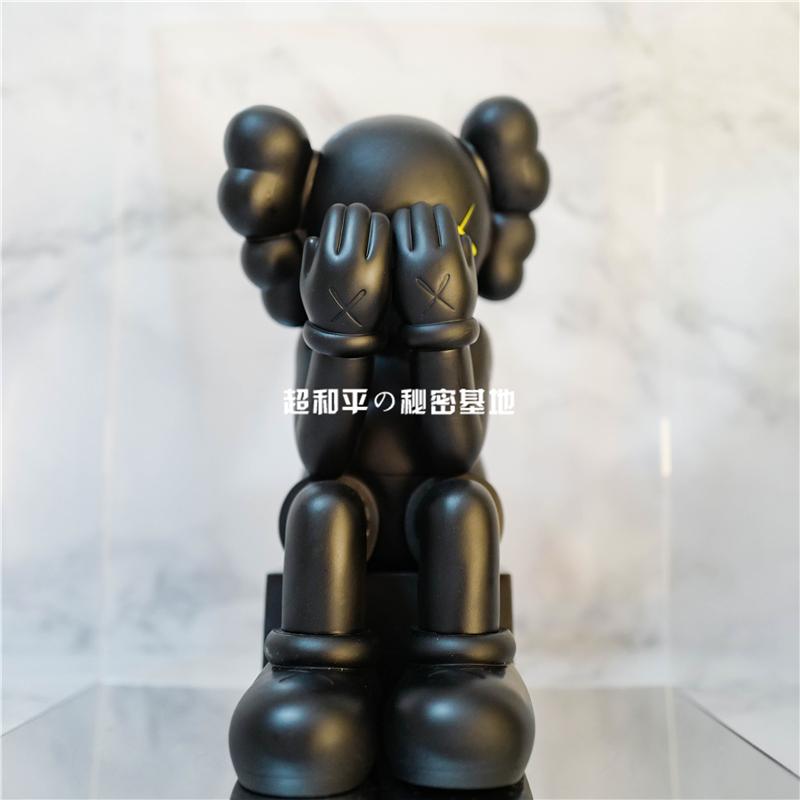 chn kaws海港城潮流手办公仔摆件潮牌模型玩偶玩具装饰设计师搪胶