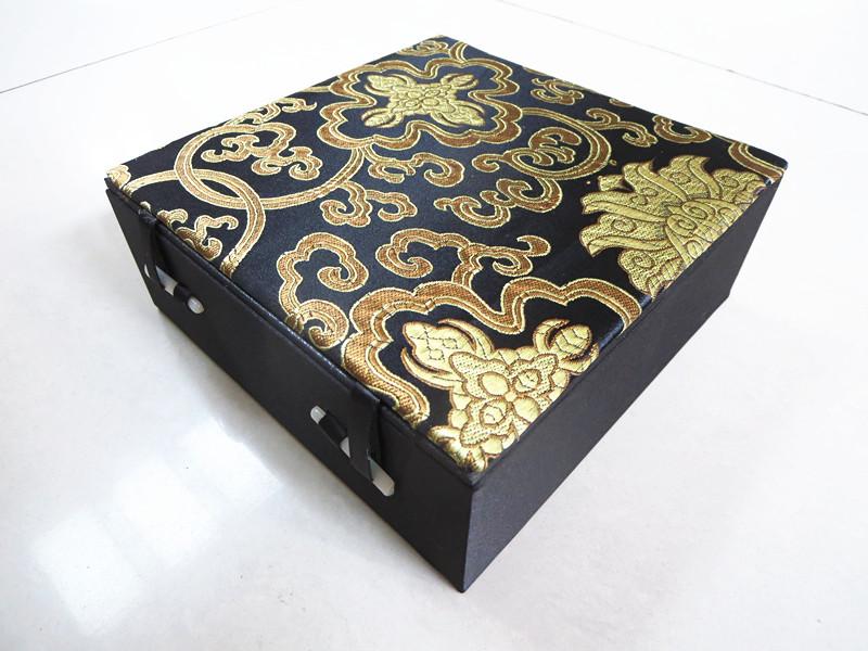 高档锦盒玉璧瓷器盘子茶饼烟灰缸佛珠手持镜子相框车挂礼品包装盒