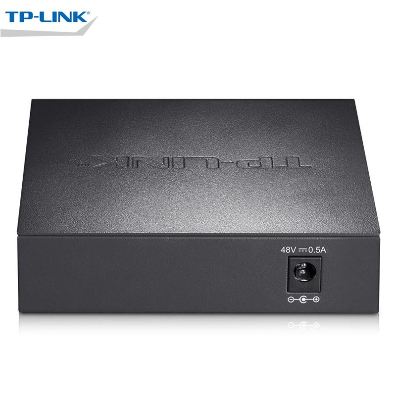 TP-Link TL-SF1005MP 5口百兆PoE交换机钢壳poe供电交换机tplink