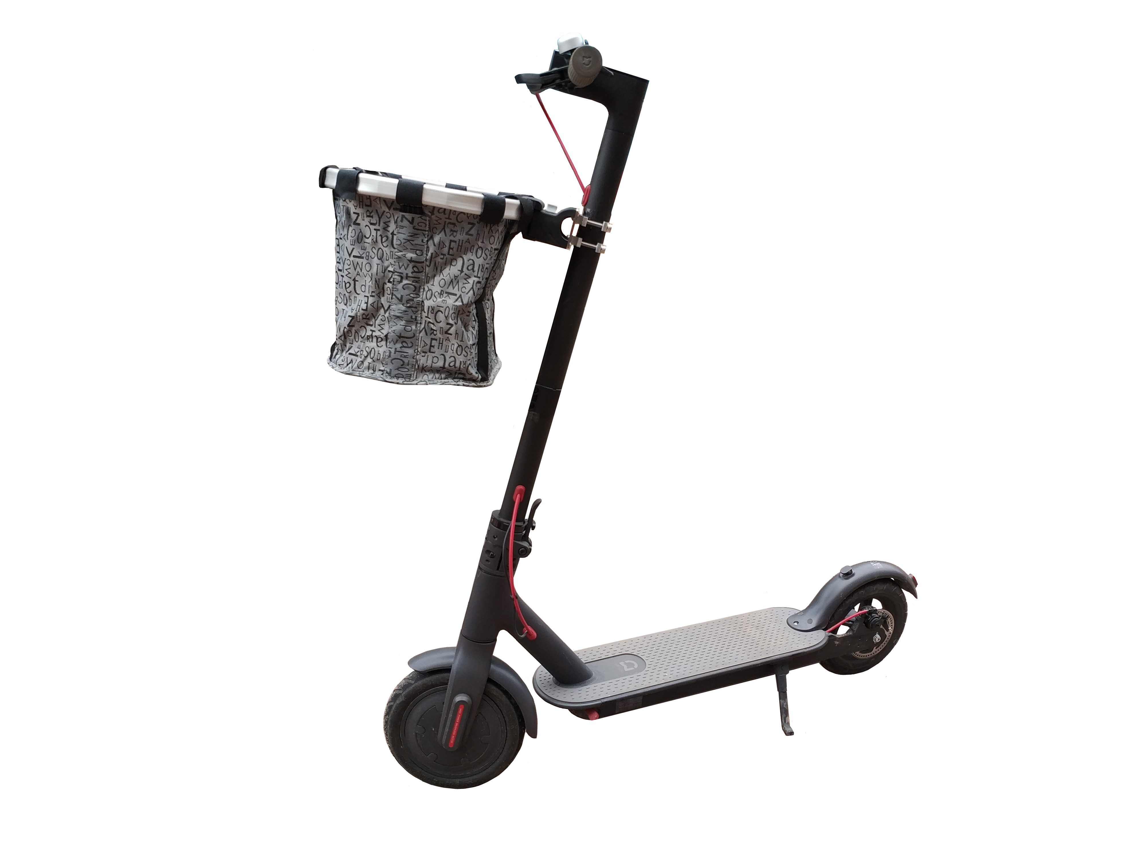 小米滑板车后蓝山地自行车筐快拆车篮折叠车前车篓骑记电助力车筐