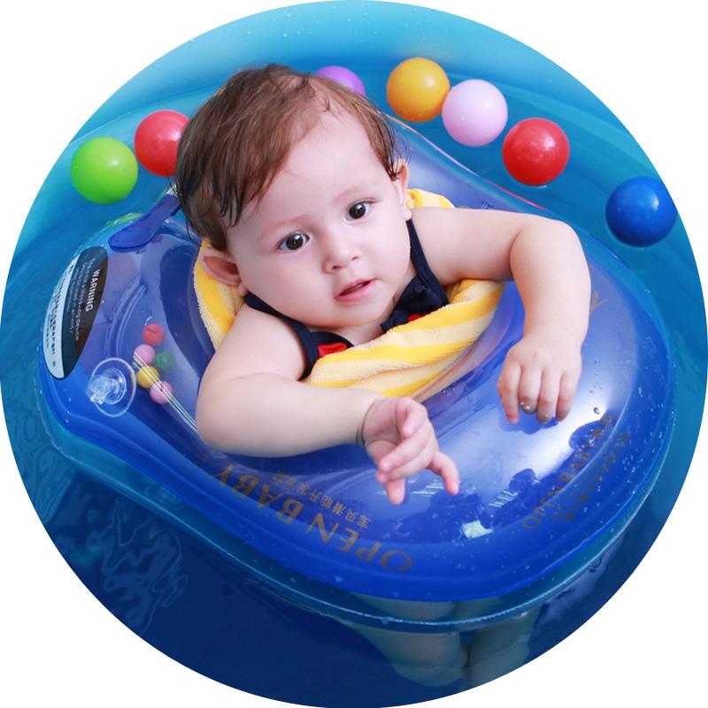 欧培婴儿游泳圈腋下圈趴趴圈0-3-6岁宝宝儿童泳圈幼儿小孩救生圈