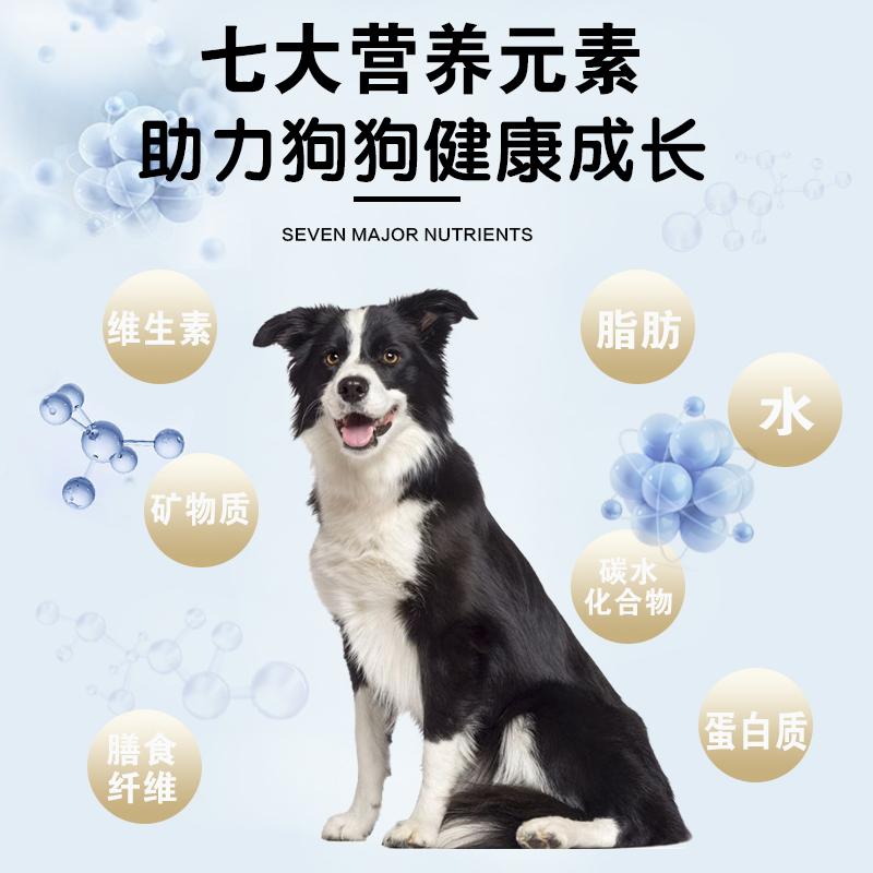 犬力鲜肉无谷狗粮1.5kg3斤装大中小型成幼犬通用型宠物主粮泰迪优惠券