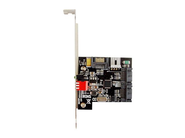乐扩 阵列卡双通道硬盘加速卡 SATA2代RAID卡 支持RAID0/1 免驱