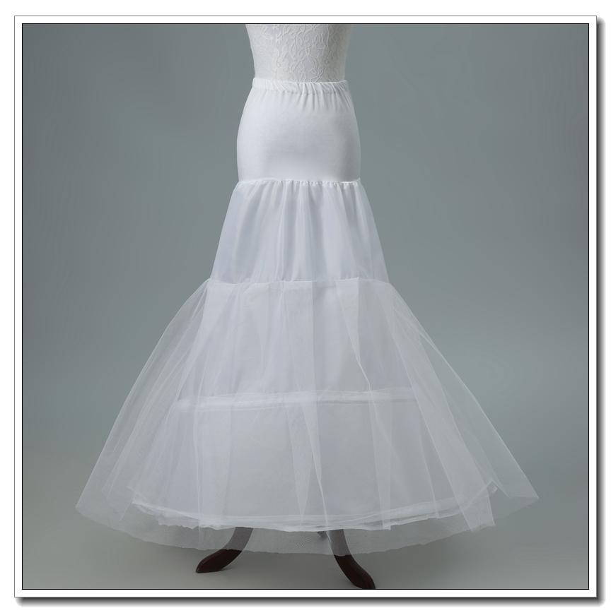 高档鱼尾婚纱裙撑新娘小拖尾礼服撑裙松紧腰带演出结婚专用裙撑