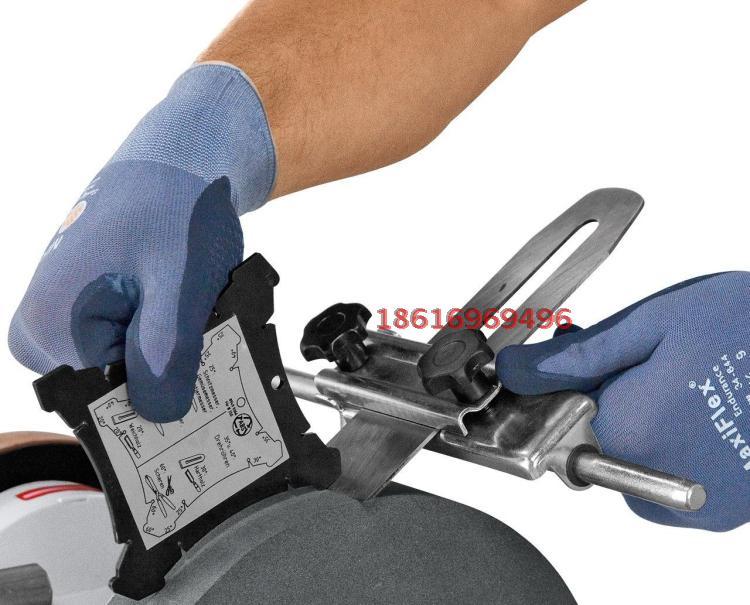 水冷磨刀机 刨刀车刀研磨机 皮革轮打磨机器爱马视频
