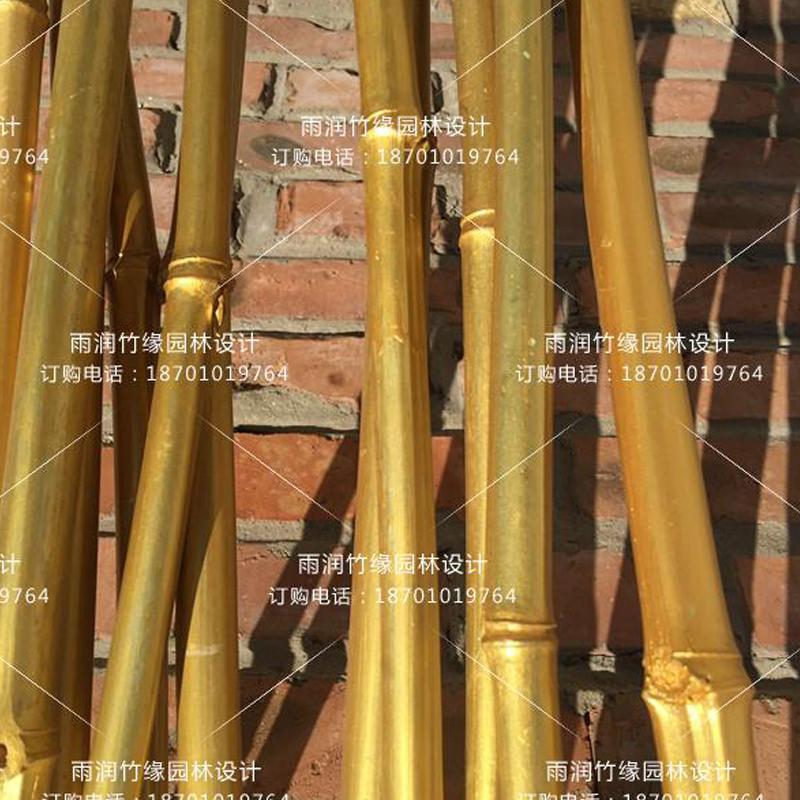 仿真家用加密竹子隔断屏风室内富贵竹竿庭院简约现代装饰实木家具