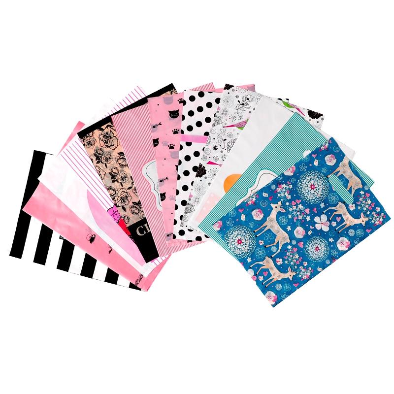 大中小号塑料礼品包装袋男女儿童服装衣服店手提袋子定做logo包邮