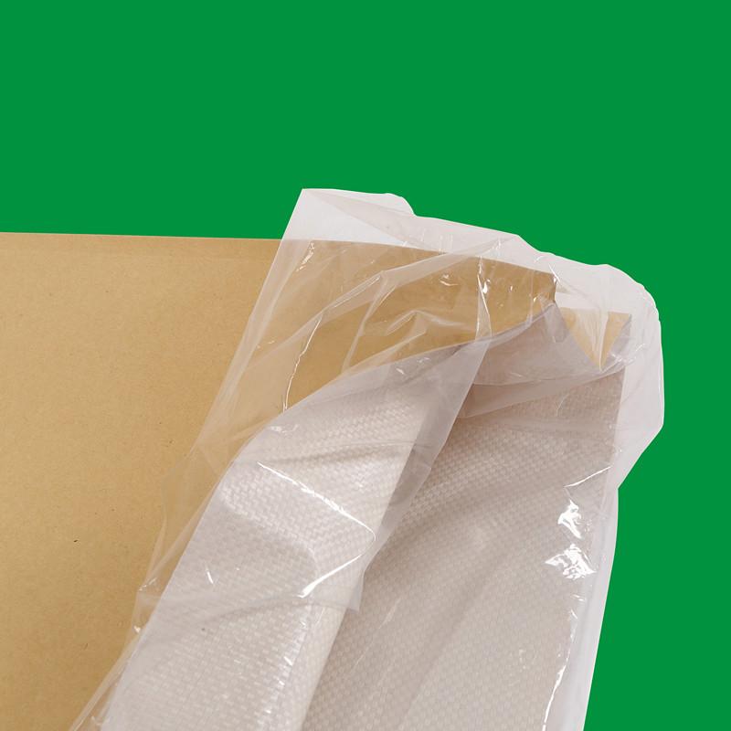 贸易批发纸塑复合袋黄牛皮纸编织加配厚内袋防潮25KG包装袋食品袋