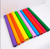 Children's handmade color large corrugated paper 4k wave paper kindergarten art and craft materials 50*70 art paper