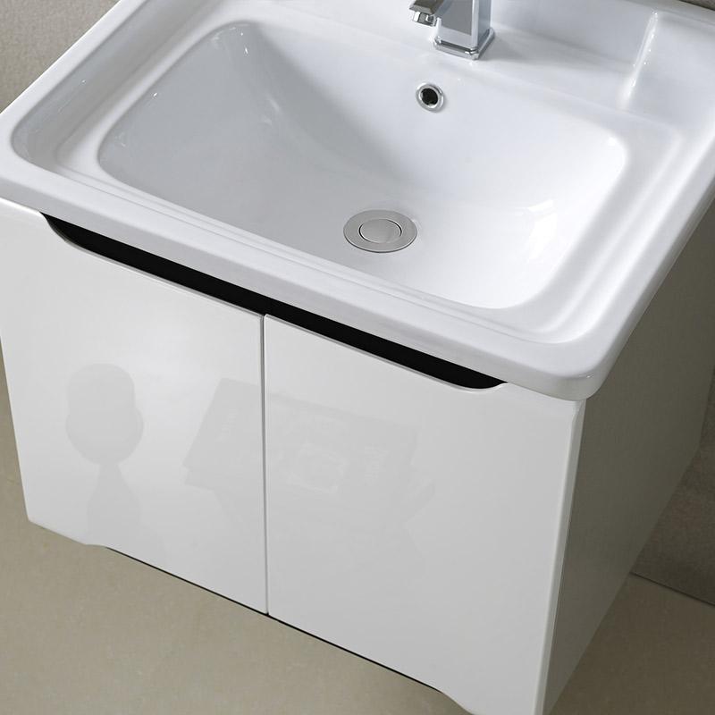 纳蒂兰卡396家用浴室柜组合简约现代小户型卫生间洗脸盆洗漱台