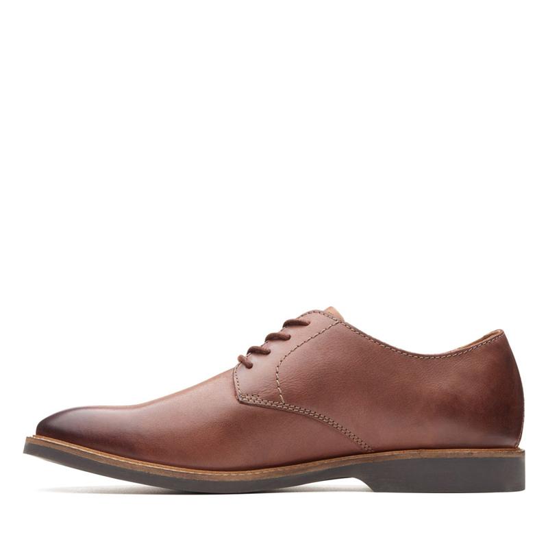 clarks其乐男鞋2019夏新款真皮低帮休闲皮鞋Atticus Lace36155