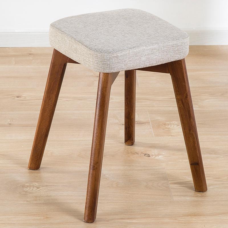 亿家达餐椅餐凳北欧椅子实木凳子休闲椅餐厅椅子现代简约家用椅凳