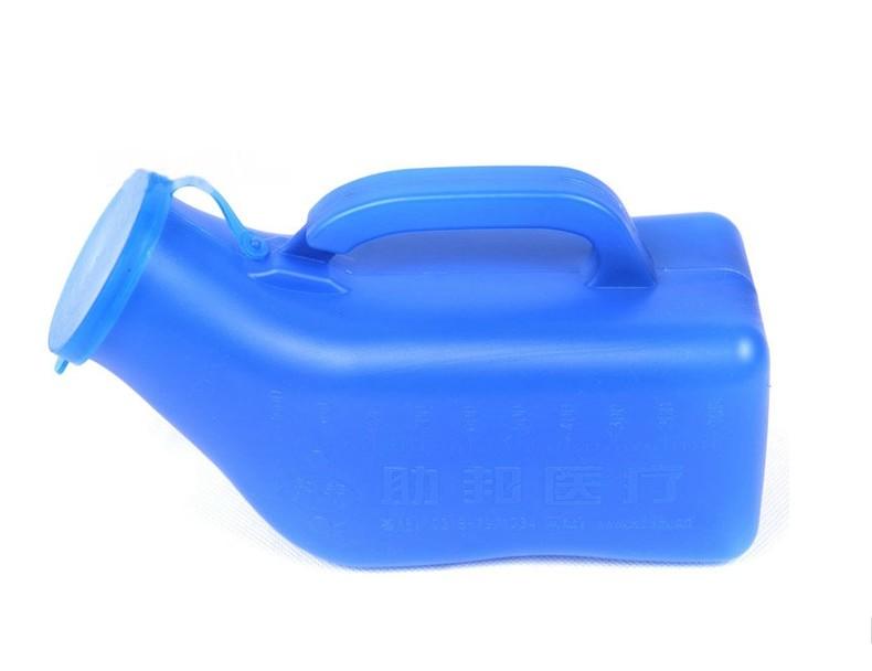 尿壶带盖管2000大容量卧床老人儿童夜壶男用小便壶宝宝接尿器防味