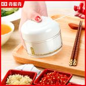 连吃5顿饺子:迷你蒜泥粉碎器