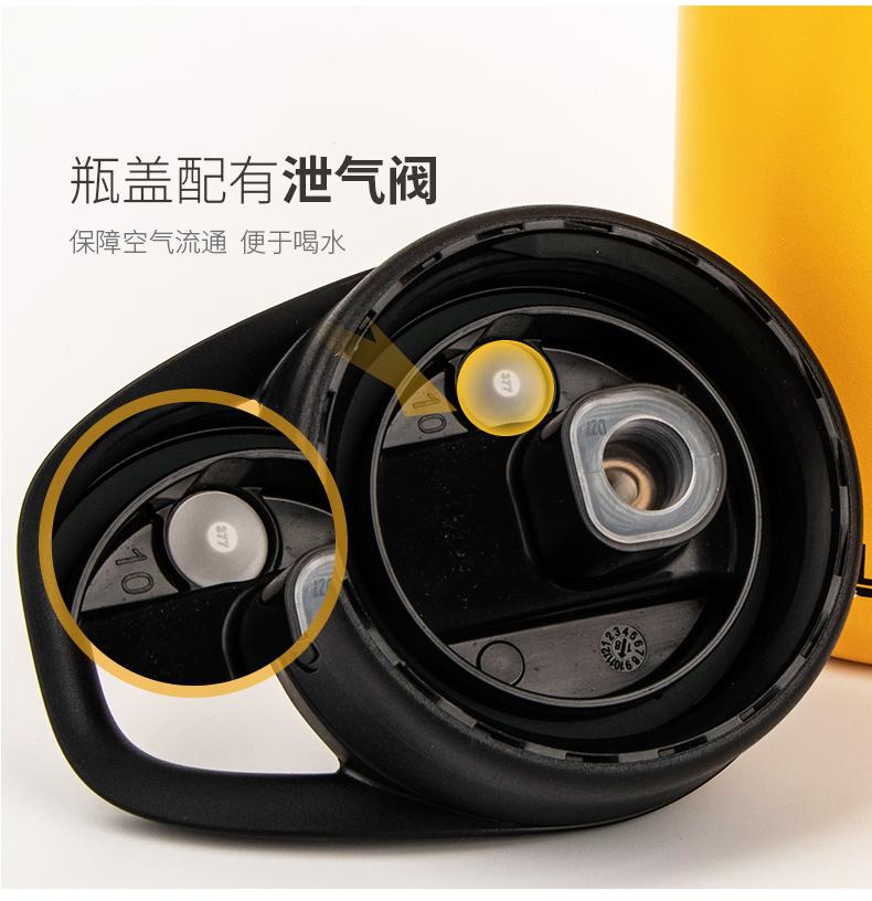 【下单立减】新款美国驼峰冰球水杯 运动保温水壶长吸管带防尘盖