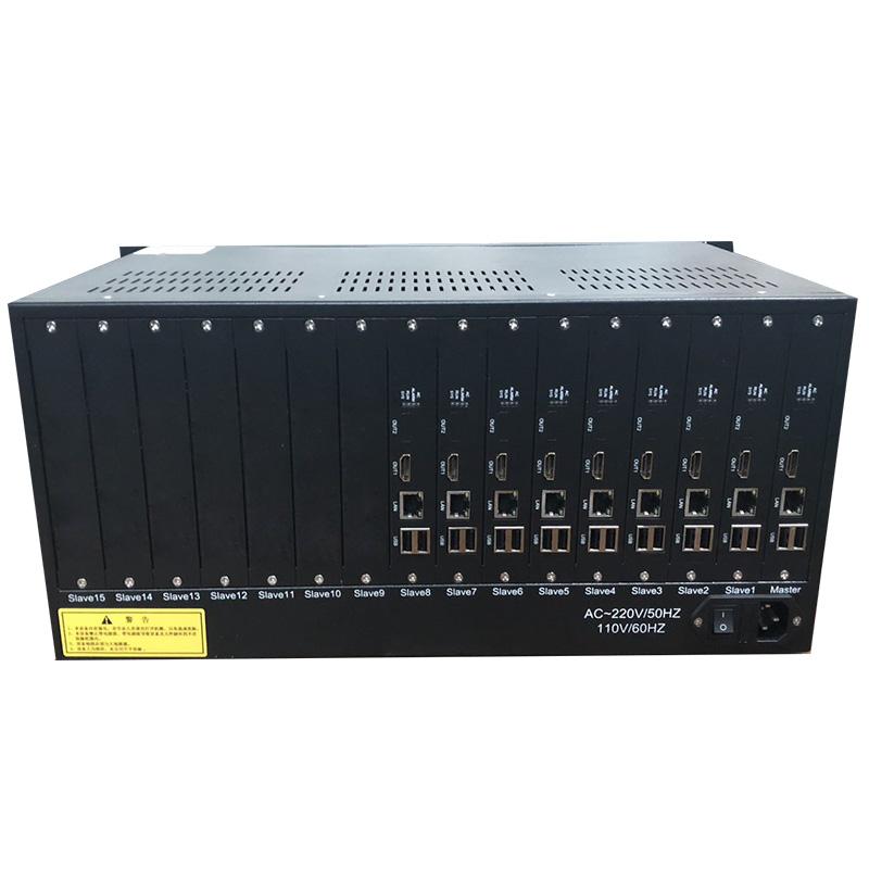 包邮9路H.265数字网络同轴高清视频全功能解码器监控矩阵服务器