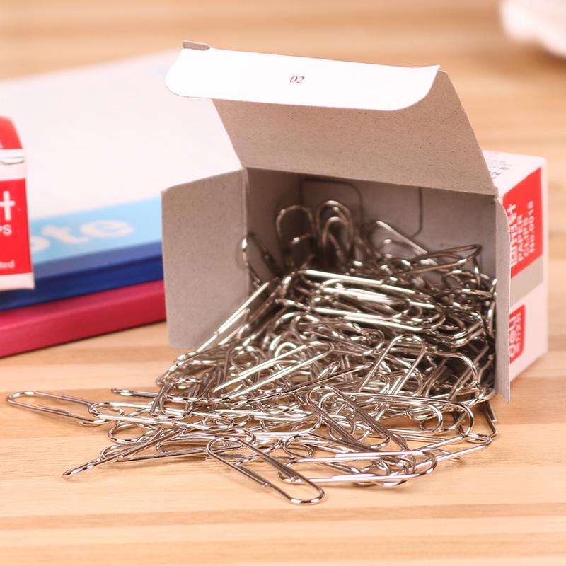 得力(Deli)0018回形针/曲别针 得力文具 办公文具装订用品回形针