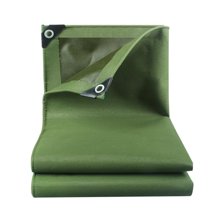 篷布雨布加厚防晒油布防水布帆布雨篷布货车遮阳布户外隔热防雨布