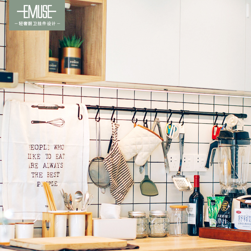 门后厨房挂钩免打孔壁挂墙壁强力粘胶衣架无痕强力承重浴室家用