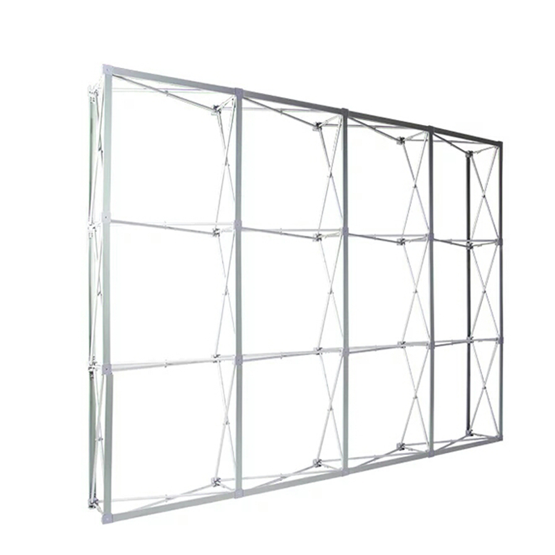 铁拉网展架签名墙支架kt板大展板喷绘伸缩便携折叠背景广告铝合金