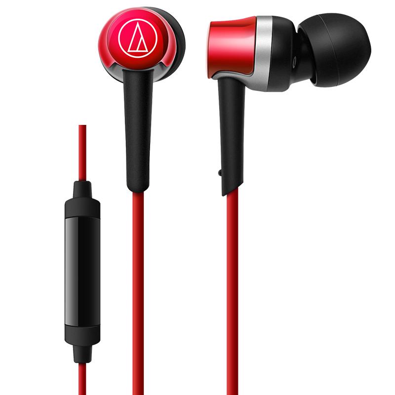 Audio Technica/铁三角 ATH-CKR30iS 手机通话线控带麦入耳式耳机