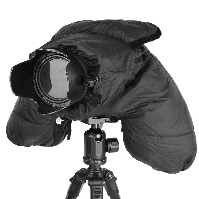 赛富图单反相机防寒罩微单保暖套羽绒保温套隔音罩防沙防雪防尘套