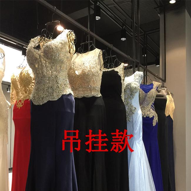 婚纱模特架女半身服装店衣架落地式女装店橱窗展示架全身模特道具